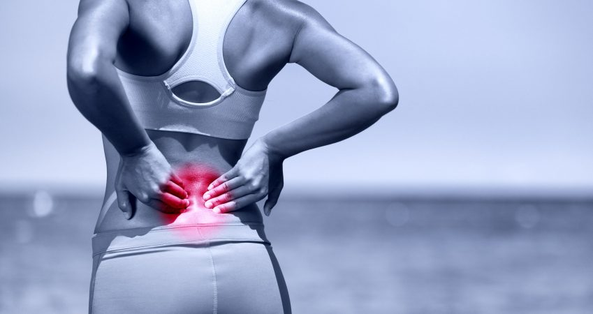 How likely is chronic back pain caused by herniated disc if I've never had sciatic symptoms?