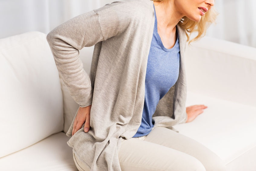 What causes lower back pain?