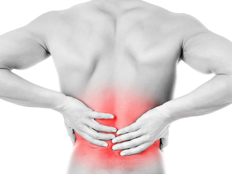 Almost every night I wake up at night with severe back pain. After I sit up on my bed or have a little walk, pain goes away. What can be the reason and how can I stop the pain?