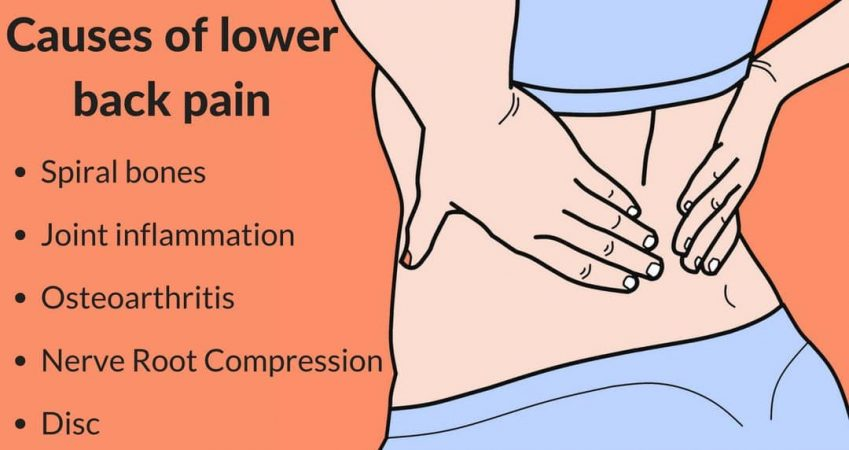 What are the common causes of Lower Back Pain?