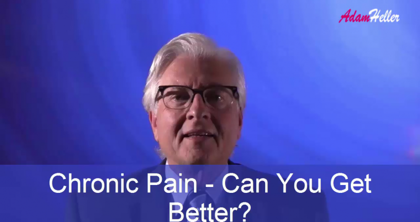 Chronic Pain – Can You Get Better? Probably