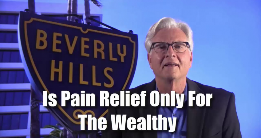 Is Getting Pain Free Only For The Wealthy?