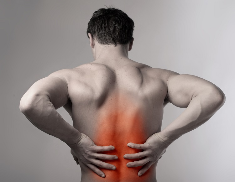 How can I deal with stress due to a family member's chronic back pain?