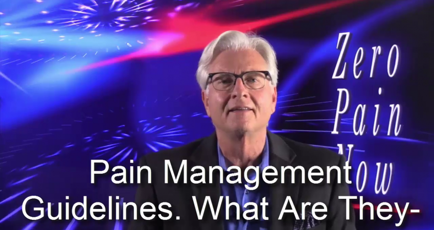 The First Thing You Need To Know About Pain Management Guidelines is…