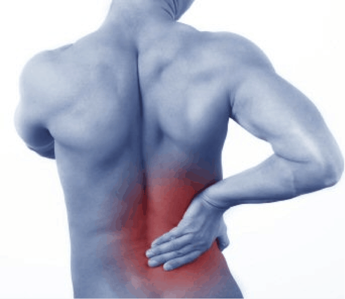 How are the causes of pain in lower right side of the back developed?